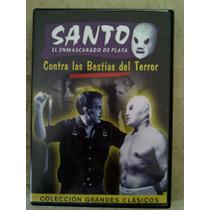 Lucha Libre / Dvd / Santo Contra Las Bestias Del Terror