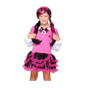 Monster High Vestido Disfraz Draculaura T 8-10 Original