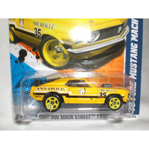 Hot Wheels Ford Mustang Mach 1 Clasico