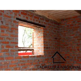 Mt2 Ladrillo Tabique Rojo 6x12x24 P/costrucción 100%barro