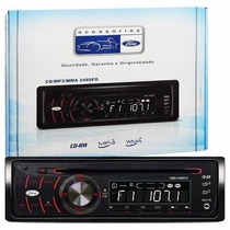 Cd Player Automotivo H-buster Hbd-2480fo Mp3, Entrada Aux
