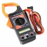 Pinza Amperometrica Digital Clamp Meter C/ Estuche Y Bateria