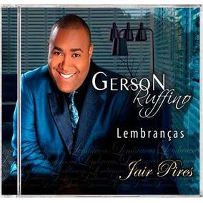 Cd Gerson Rufino - Lembranças De Jair Pires (bônus_playback)