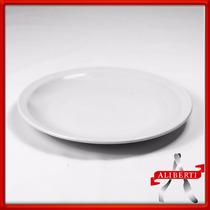 Plato Playo 25cm (precio X Docena) Porcelana Hotelera