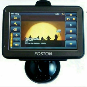 Gps Automotivo Foston 3d 463 4,3 Tv Digital Atualizado 2016