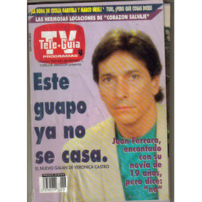 Tele-guia.en Portada El Actor Juan Ferrara $60.00