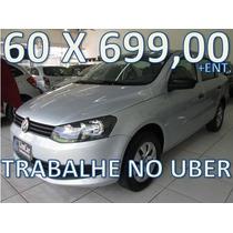 Volkswagen Voyage 1.6 Flex Completo Entrada+60 X 699,00 Fixa