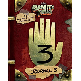 Libro Disney Gravity Falls Journal 3 Colección Pasta Dura