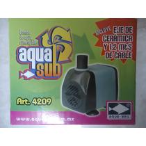 Bomba De Agua Sumergible 600l/h 1.2m Pecera Fuente Etc