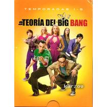 La Teoria Del Big Ban Temporadas 1 2 3 4 5 Serie Boxset Dvd
