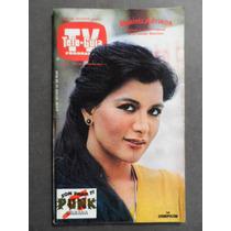 1981 Beatriz Adriana En Portada Revista Tele Guia