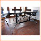 Mesa Reunión Conferencia Eames Herman Miller Aluminiun Retro