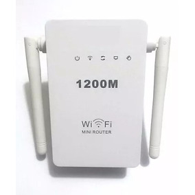 Wifi Repetidor Extensor Wireless 2antenas 1200mbps + Rápido