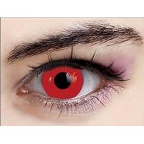 Lentes Contato Vermelha Cosplay Pronta Entrega Lens