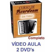 Curso De Acordeon Sanfona Em 2 Dvds!