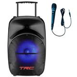 Caixa Acústica Amplificada Trc 328, 100w E Fm