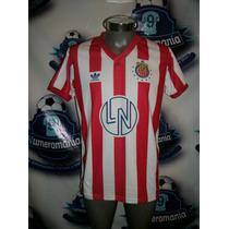 Increible Jersey Chivas Retro Loteria Nacional Adidas 91-92