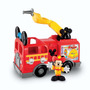 Fisher Price Camion De Bomberos Mickey Mouse. Original