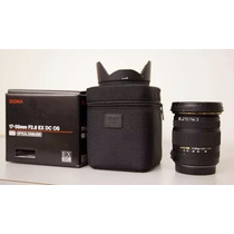 Lente Sigma 17-50mm F/2.8 Ex Dc Os Hsm Autofoco Nikon + Uv