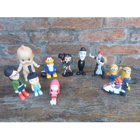 Super Lote 11 Brinquedos Colecao Batty Chaplin,pica Pau Etc
