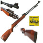 Rifle Aire Comprimido +100 Balines 5.5 450 Fps Practica Tiro