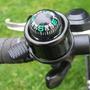 Bussola Metálica Com Buzina Para Bicicletas Por 9,90 Reais.