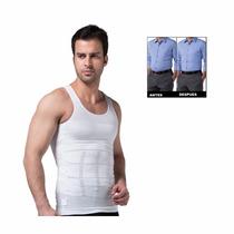 Camiseta Reductora Hombre (blanca/talle L) Zgs-343bl Metinca