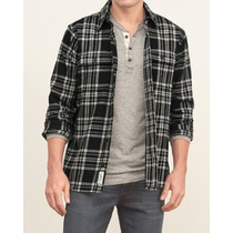 Camisa Saco Abercrombie & Fitch. Small Gruesa Como Campera