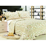 All For You 3 Piezas Reversible Colcha / Cobertor / Quilt S