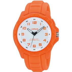 Reloj Lorus By Seiko R2383jx9 Niños Analogico Naranja