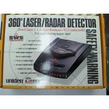 Detector De Radar En Rutas 360° Láser Uniden 4 Bandas