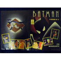 Álbum De Figurinhas Batman - O Desenho Da Tv (incompleto)