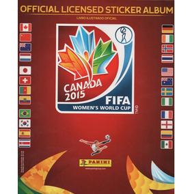 Álbum Copa Do Mundo Feminina 2015 Mundial Feminino Completo