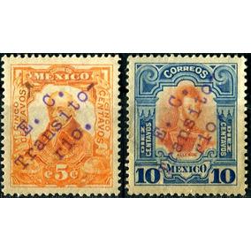 2525 Revolución Gomigrafo Culiacán 5c 10c Mint L H 1914