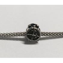 Berloque Relógio Em Prata 925