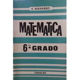 E. Navarro Resumen Matematica 6to Grado