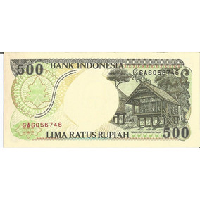 Cédula - Indonesia - 500 Rupiah - 1992 - Cat#