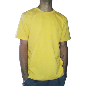 Remera Lisas Adulto 100% Cotton Strong 20/1