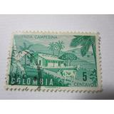 Colombia 5c Vivienda Campesina Estampilla L10