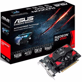Placa De Video Ati Amd R7 250 1gb Ddr5 R7250 Pcie 3.0 Asus