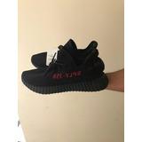 adidas Yeezy 350 Boost Core Red Black Originales