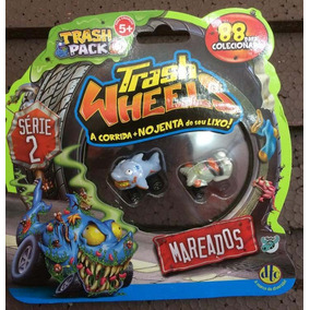 Trash Pack Wheels Blister Com 2 Trashies (mareados)