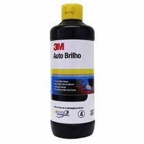 Cera Lustrador Polidor Auto Brilho Cristalização 3m 500ml