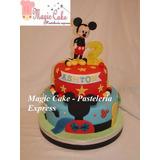 Torta Mickey Mouse Para 50 Porciones A Solo S/. 230 !!!