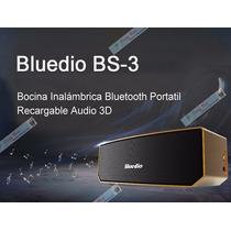 Bocinas Inalambricas Bluetooth Recargables Bluedio Bs-3