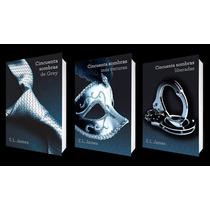 Trilogía Cincuenta Sombras De Grey Paq. 3 Libros E. L. James