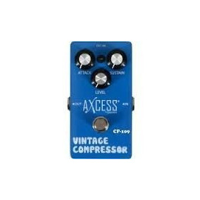 Pedal Vintage Compressor Axcess By Giannini