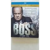 Boss Serie Primera Temporada Completa Bluray - Como Nueva!!