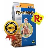 Ração Special Dog Carne 15 Kg - Saco Comida 21% Proteína