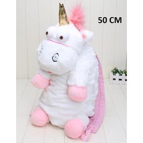 Mochila Bolsa Unicornio De Pelucia 50cm *pronta Entrega*